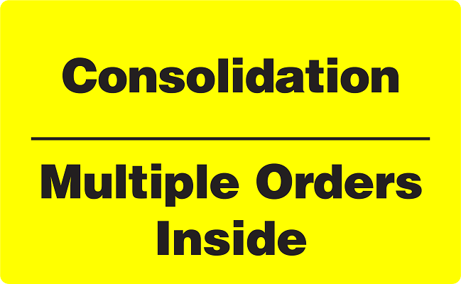 Consolidation - Multiple Orders Inside