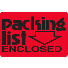 Packing List Enclosed - Graphic