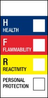 Health - Flammability - Reactivity - Personal Protection